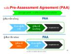 pre assessment agreement paa1
