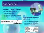 gas behavior7
