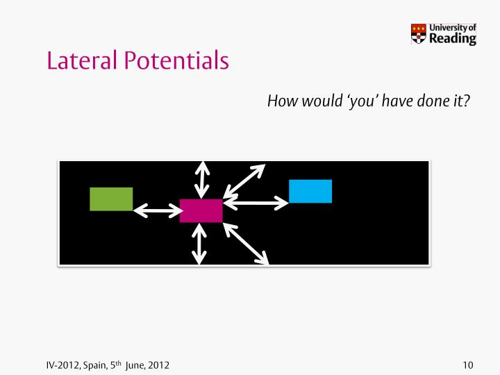 Lateral Potentials