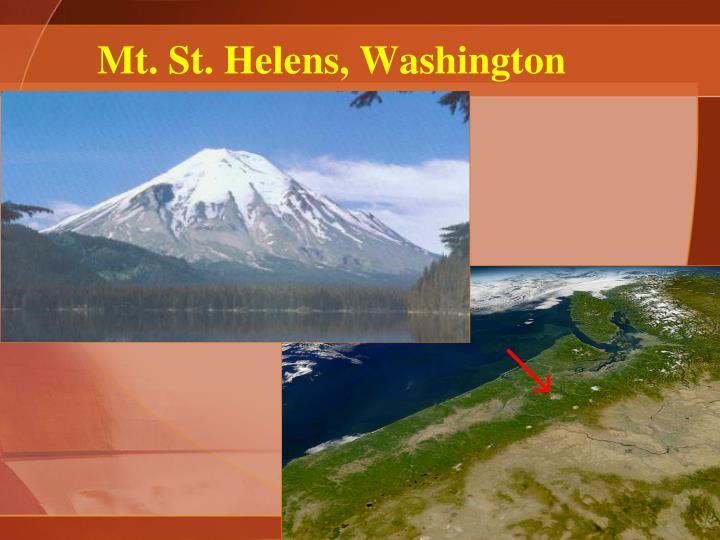 Mt. St. Helens, Washington