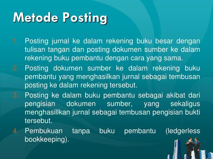 Metode Posting