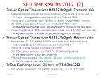seu test results 2012 2