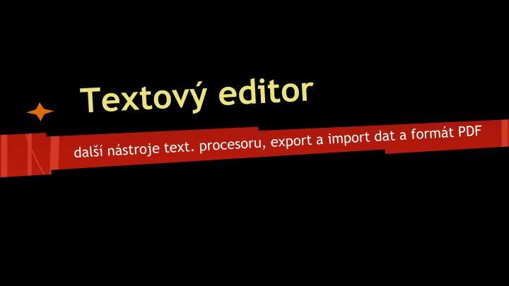 textov editor n.