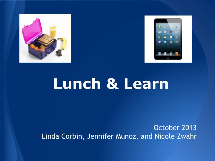 lunch learn