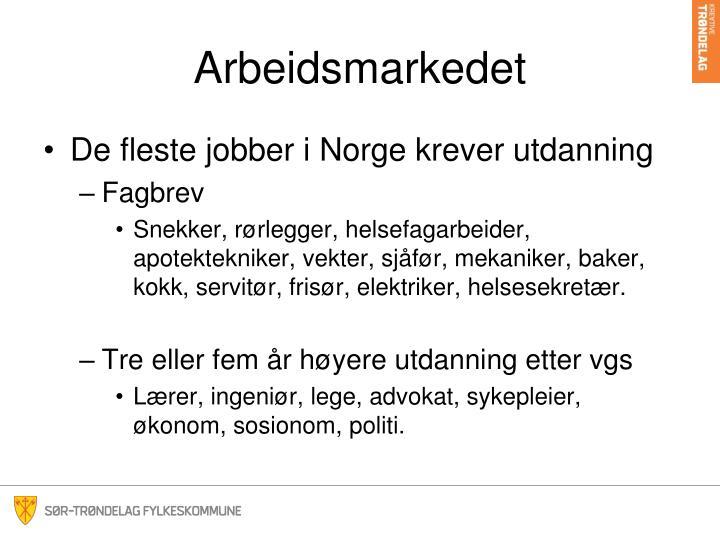 Arbeidsmarkedet