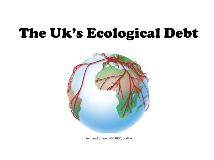 the uk s ecological debt n.