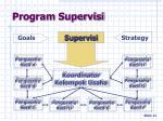 program supervisi