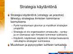strategia k yt nt n