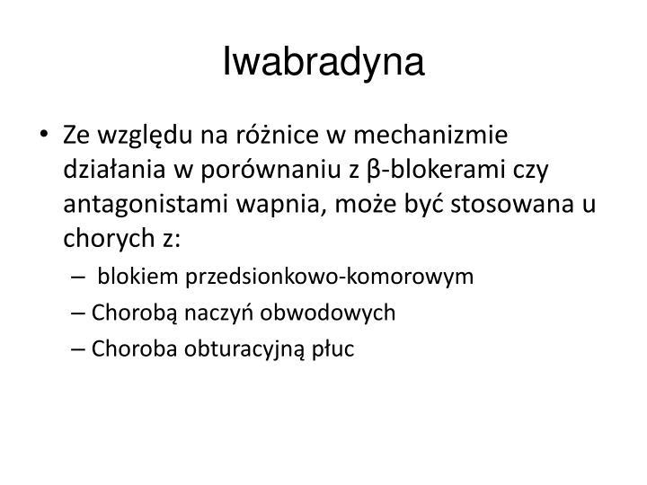 Iwabradyna