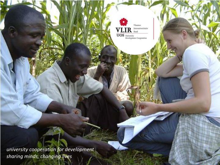 University cooperation for development