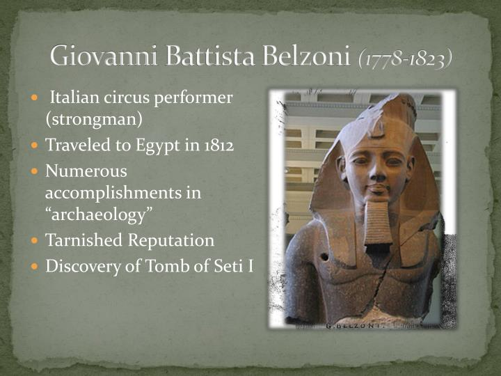 Giovanni battista belzoni 1778 1823