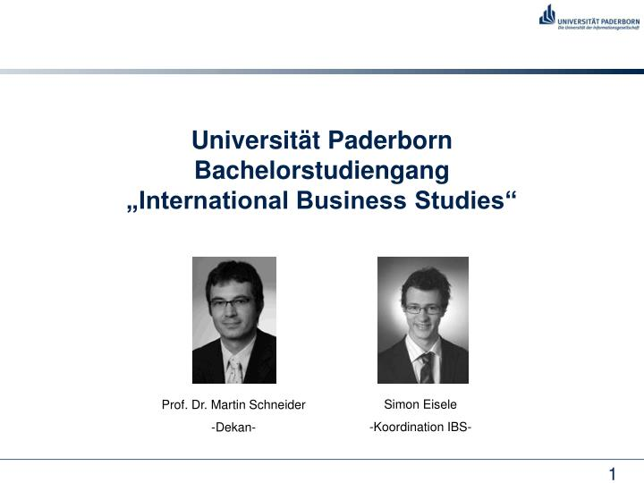 universit t paderborn bachelorstudiengang international business studies n.