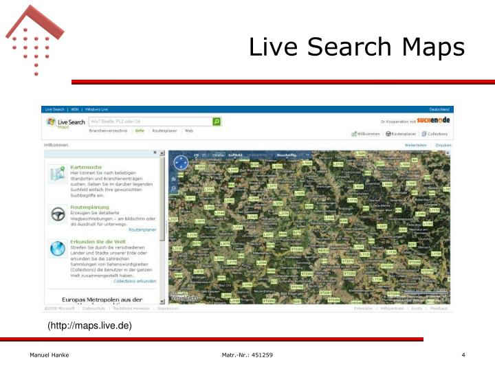 Live Search Maps