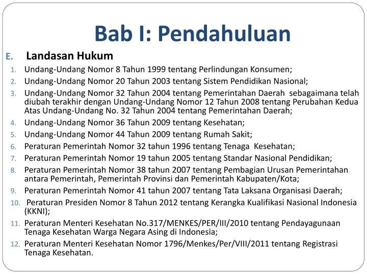 Bab I: