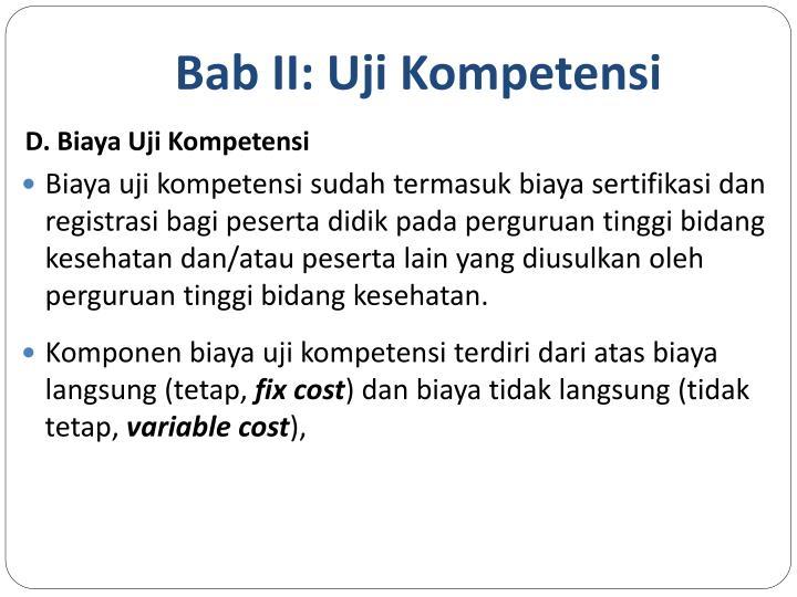 Bab II: