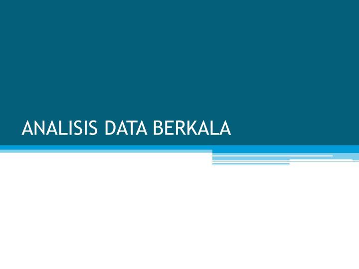 analisis data berkala n.