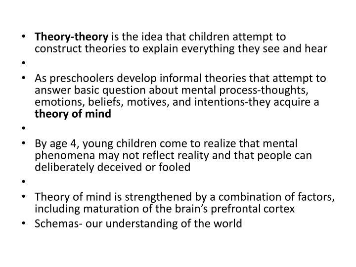 Theory-theory