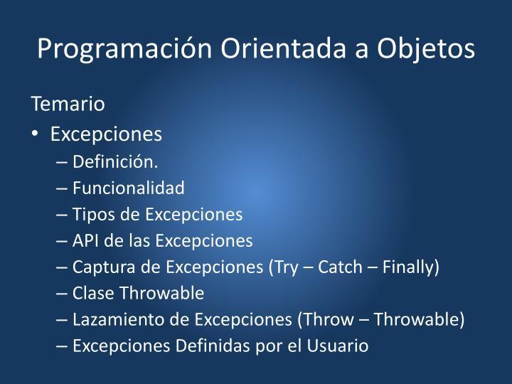 programaci n orientada a objetos n.
