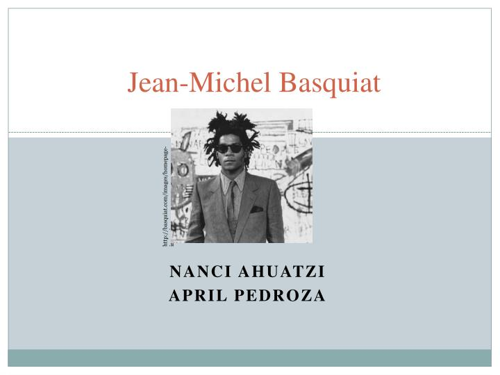 jean michel basquiat n.