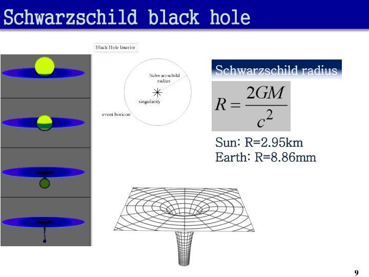Schwarzschild black hole