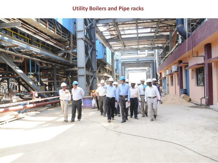 Utility Boilers and Pipe racks