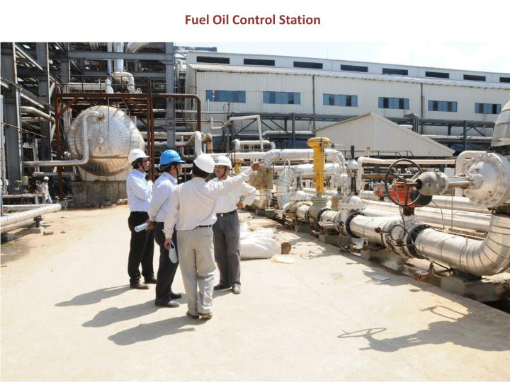 Fuel Oil Control Station