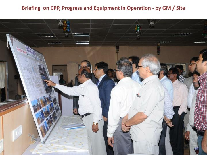 Briefing  on CPP,