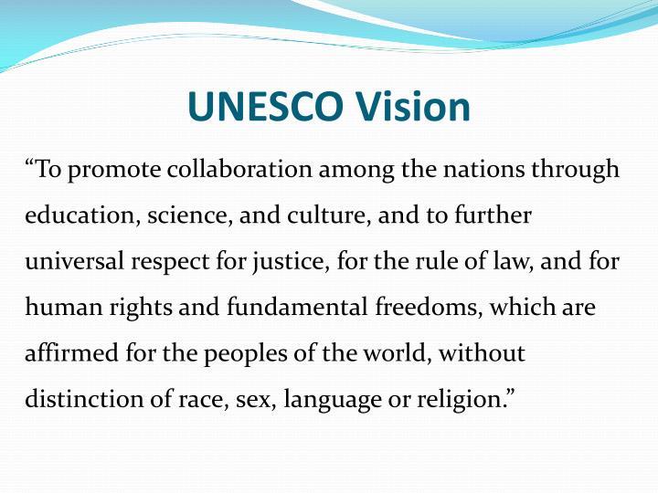 UNESCO Vision