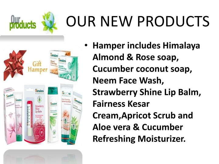 Our new products1