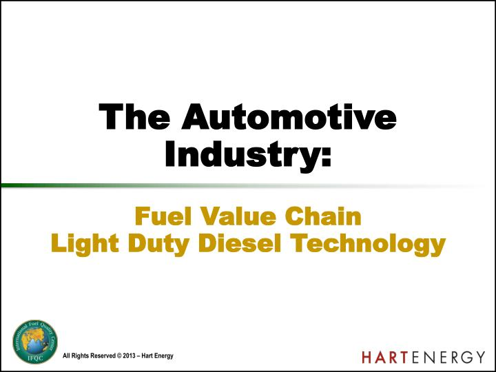 the automotive industry n.