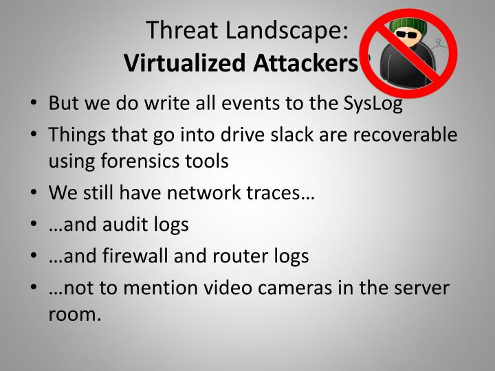 Threat Landscape:
