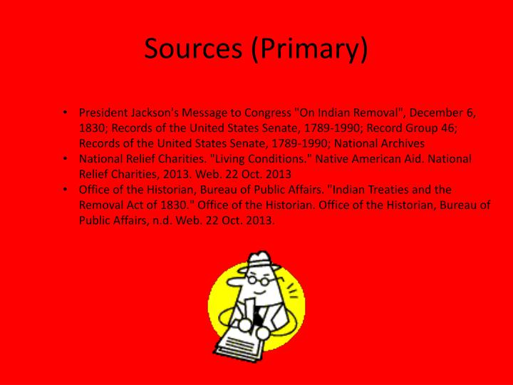 Sources (Primary)