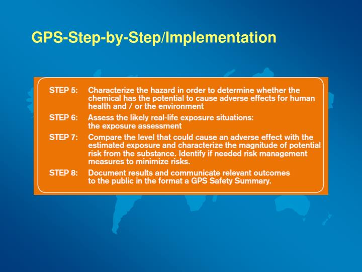 GPS-Step-by-Step/Implementation