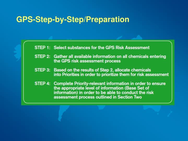 GPS-Step-by-Step/Preparation