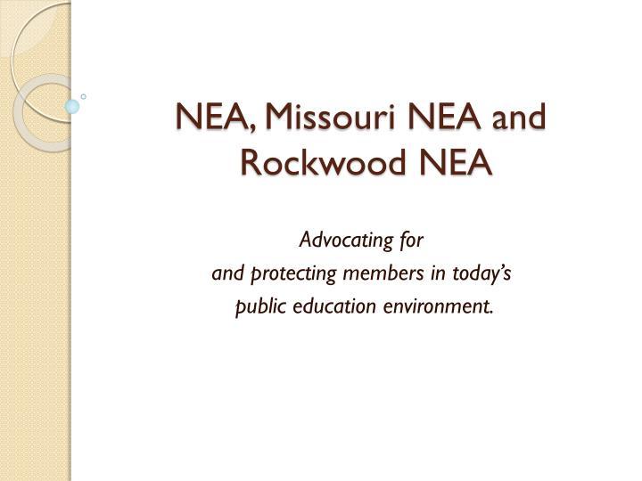 nea missouri nea and rockwood nea n.
