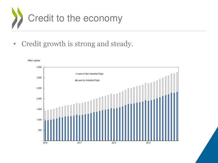 Credit to the economy
