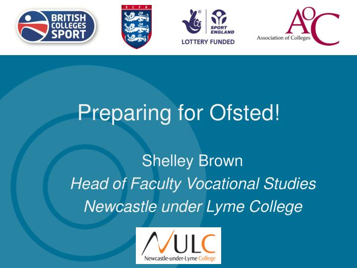 preparing for ofsted n.