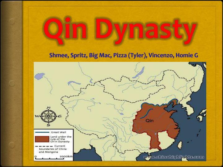 qin dynasty n.