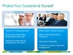 protect your customer yourself