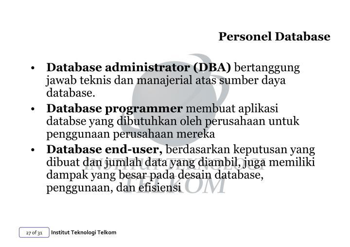 Personel Database