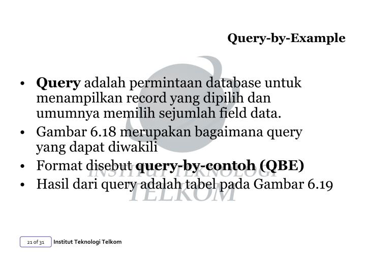 Query-by-Example