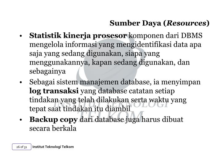 Sumber Daya (