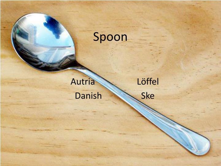 spoon n.