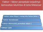 faktor faktor penyebab terjadinya kemacetan lalulintas di kota makassar