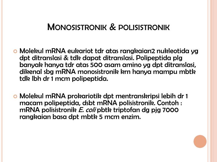 Monosistronik