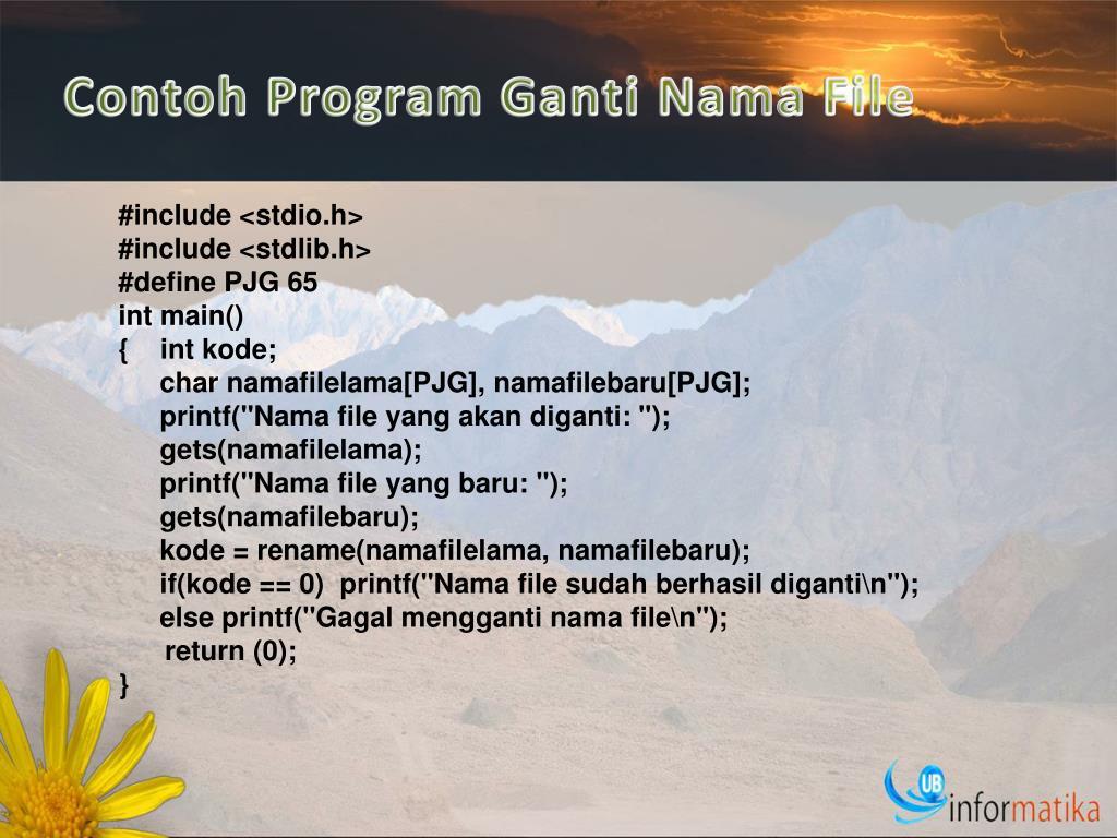 PPT - OPERASI FILE PowerPoint Presentation, free download ...