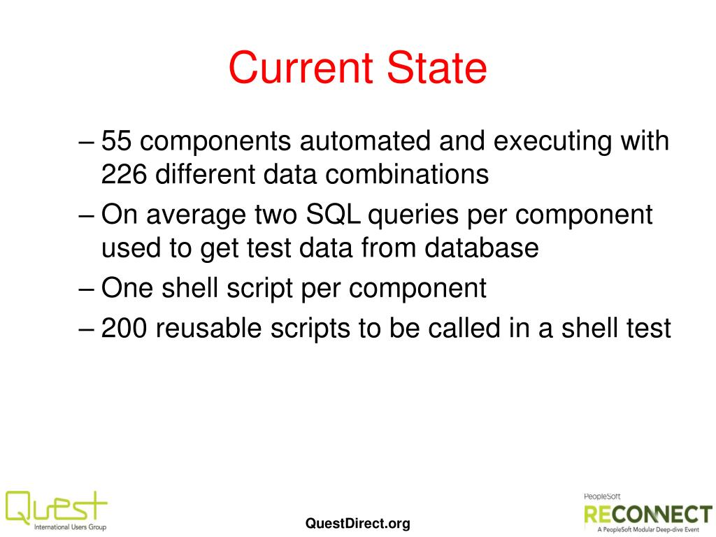 PPT - 100740 – PeopleSoft Test Framework – The Wells Fargo Way