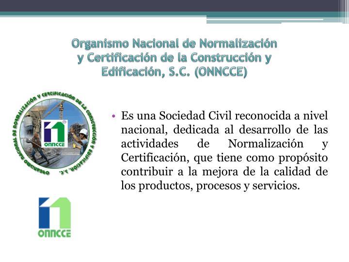 Organismo Nacional de Normalización