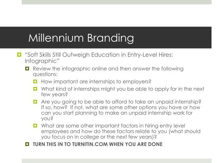 Millennium Branding