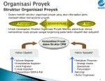 organisasi proyek struktur organisasi proyek1